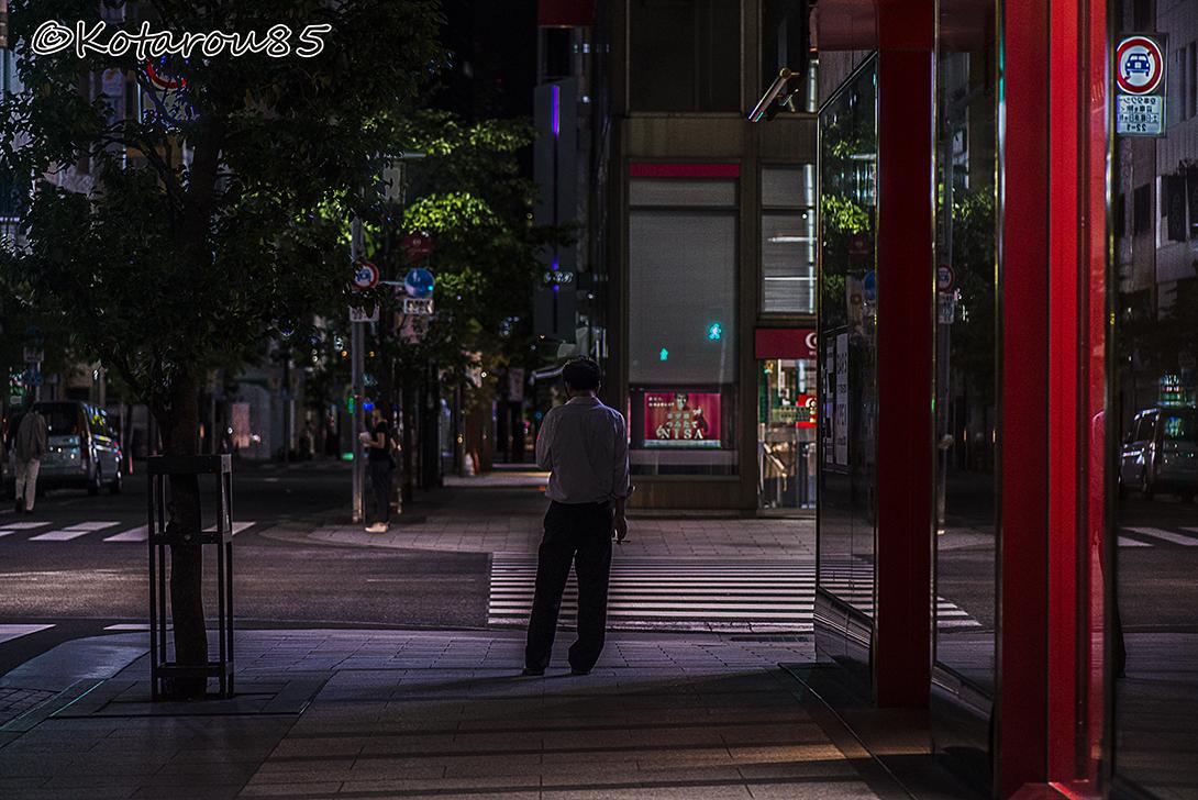 静かな街角で 20150824
