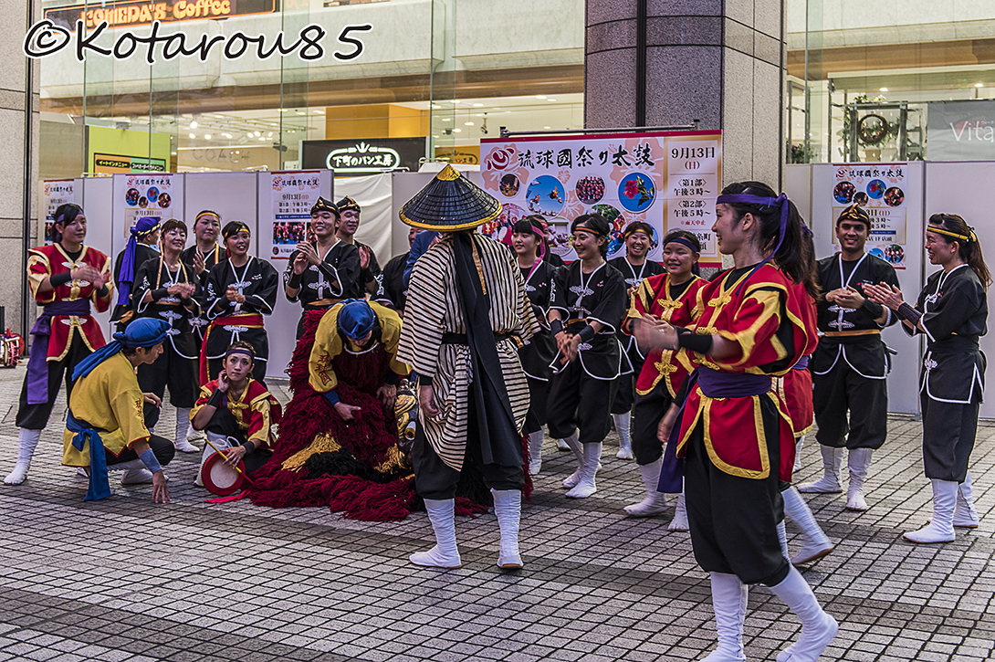 琉球国祭り太鼓 20150914