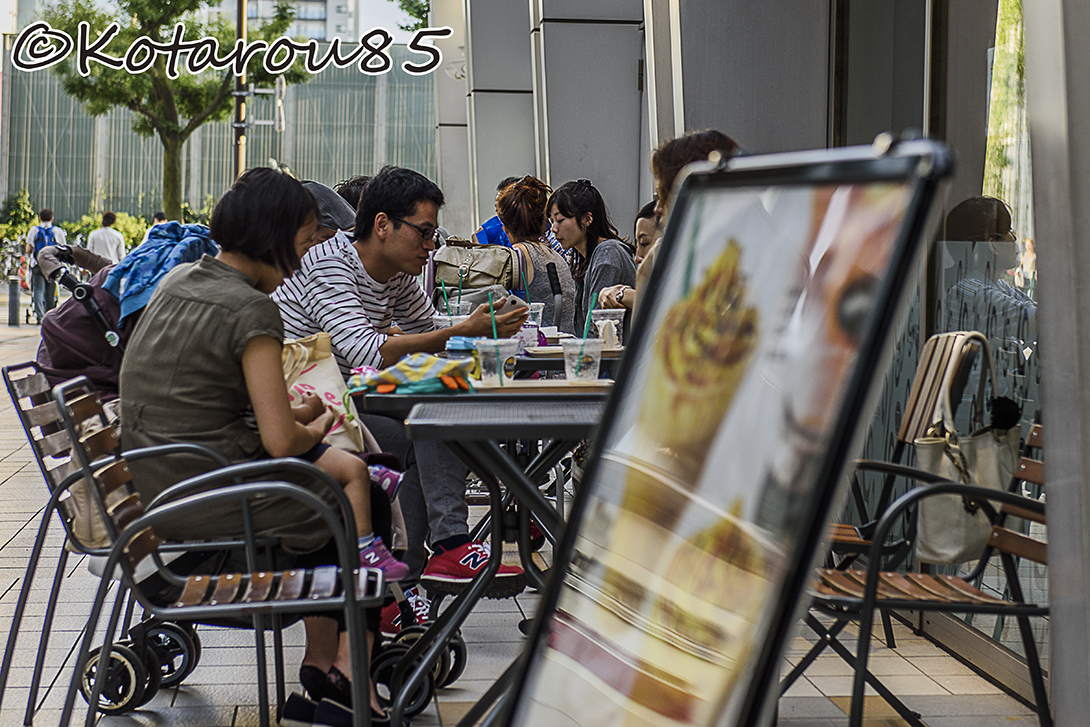 日曜日のカフェテラス 20150914