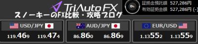 トライオートFX成行OCO注文