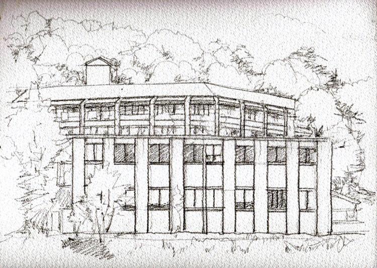 福祉の家 萩の社 デッサン (750x534)