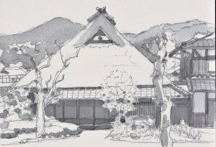 丹波篠山の農家 グレー (750x510)