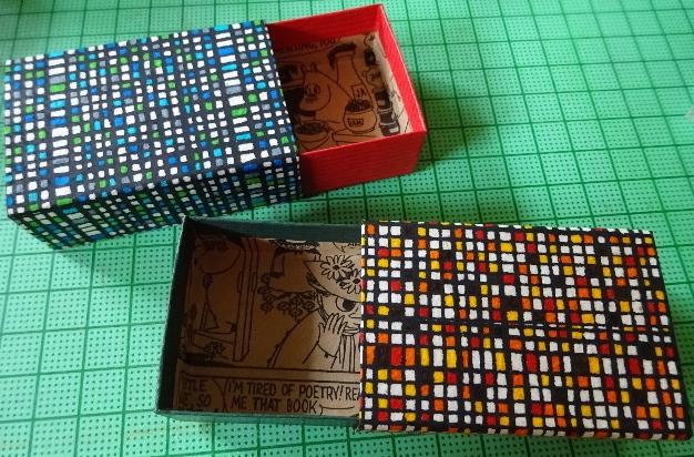 モンドリアンマッチ箱