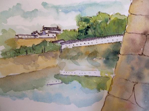 姫路城 遠望
