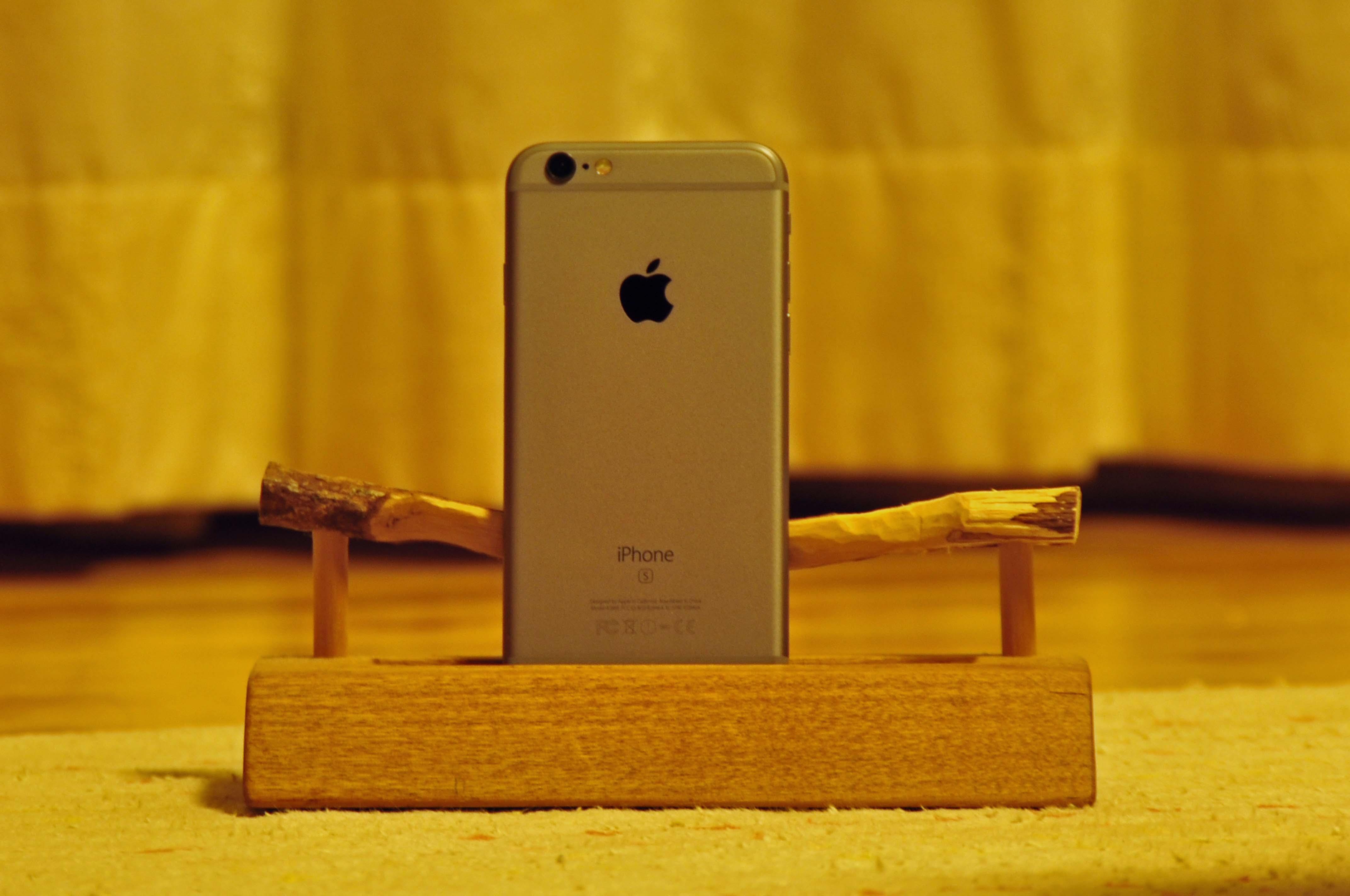 iphone6s 木工スタンド