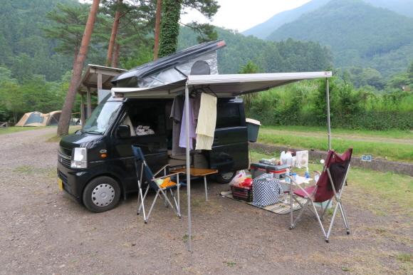 ヤマセミの郷キャンプ場1