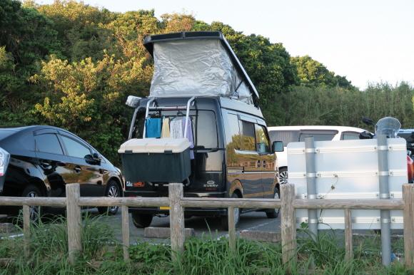 潮岬の芝キャンプ場6