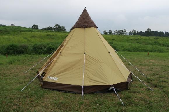 テント撤収