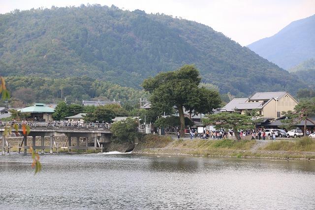 嵐山の景色