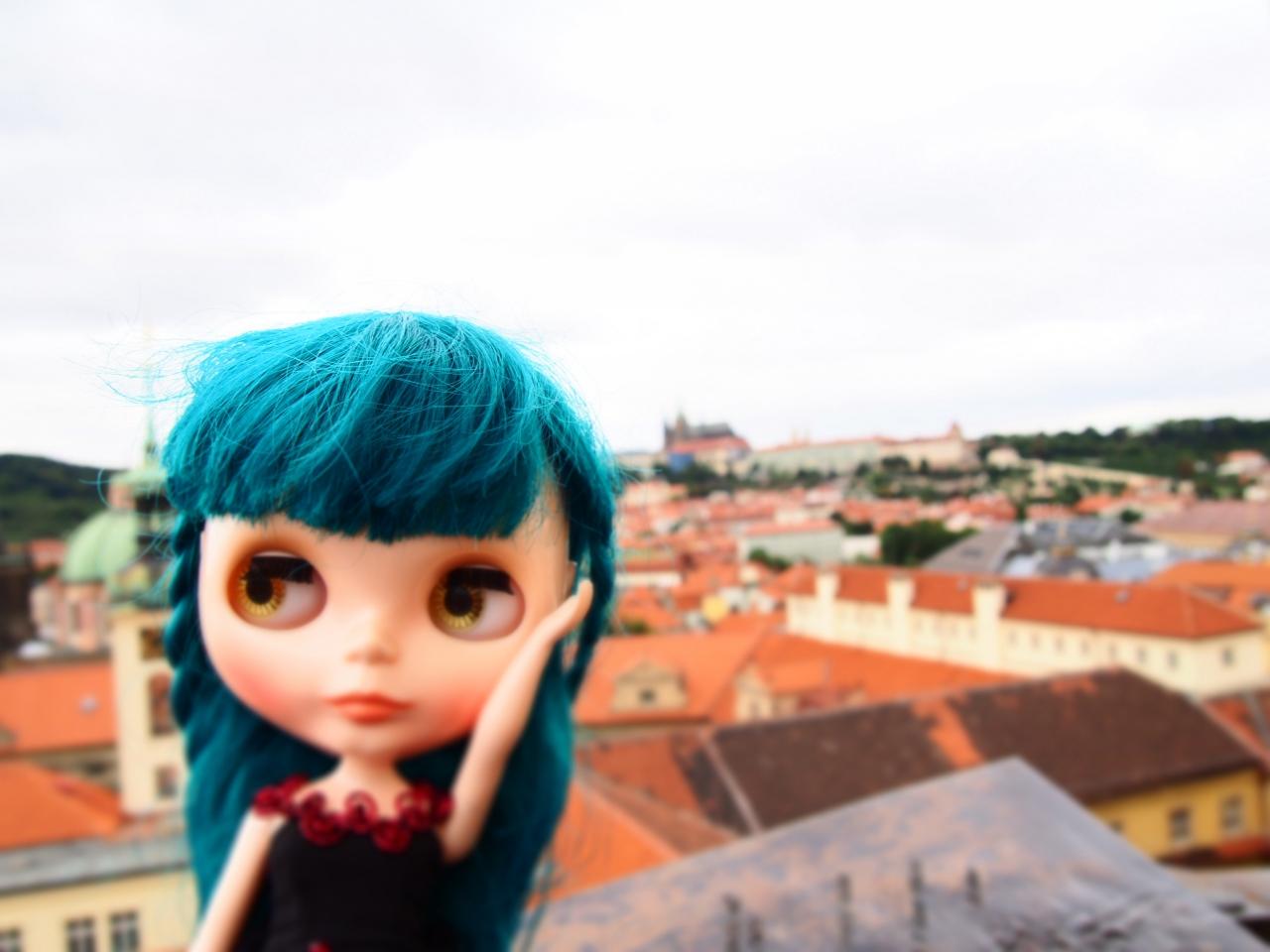 1プラハ城の上