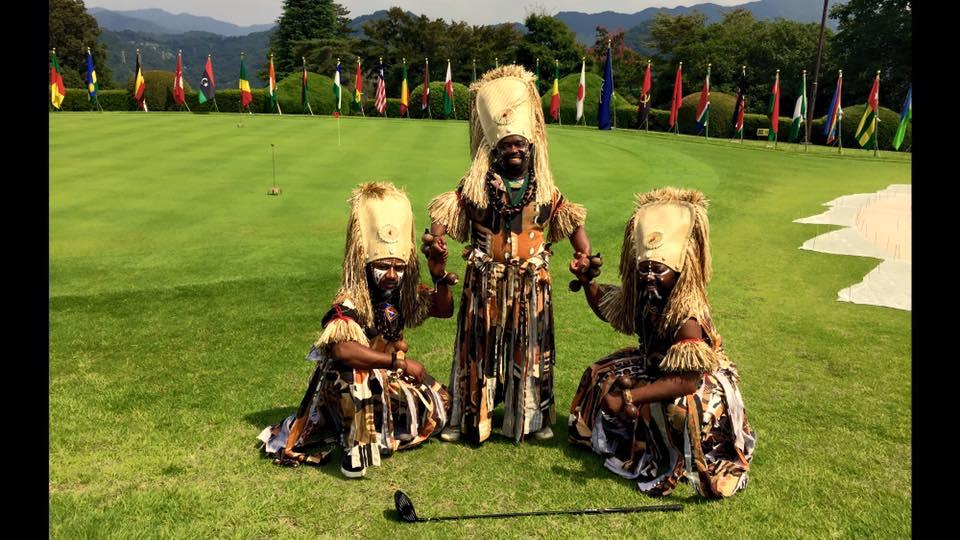 リンゴマ@Africa Golf Cup 2015@神奈川カントリークラブ