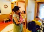 千田と赤ちゃん
