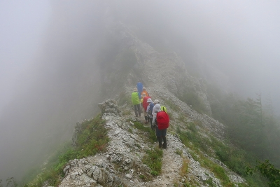 七倉岳への登り