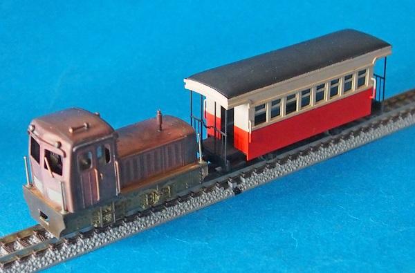 森林鉄道DLとPC-RZ