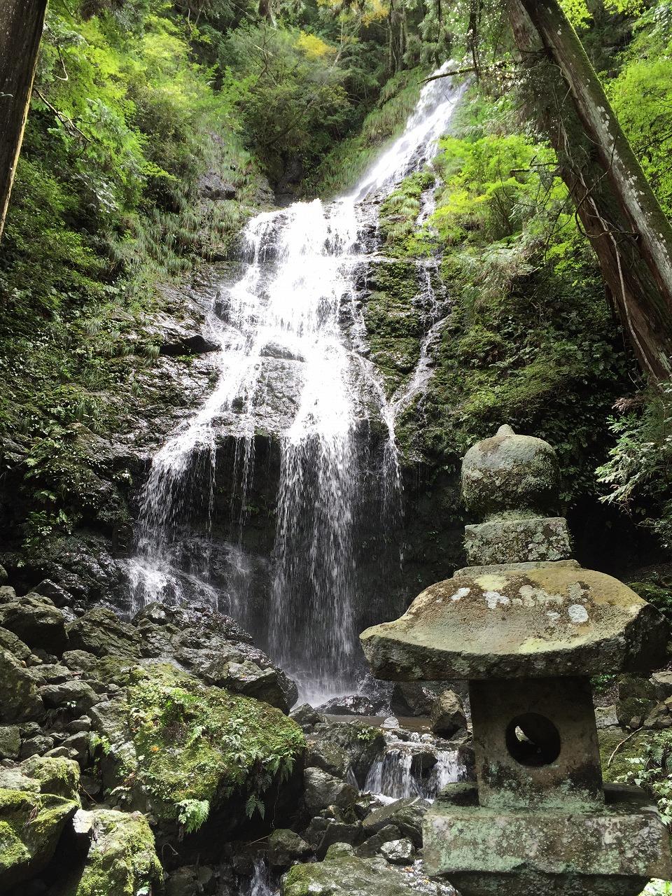 飛龍の滝2。