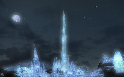 美しいクリスタルタワーが見られます