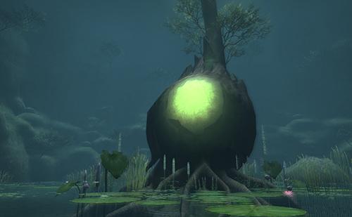 世界樹の接ぎ木はとりあえず成功