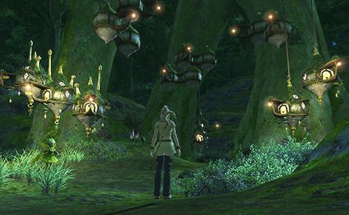 旧FF14時代のシルフの森