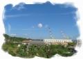 造船所の上の雲