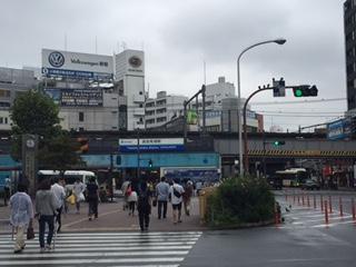 高田馬場駅1