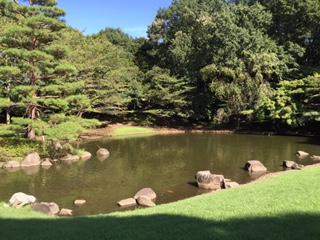 一本杉公園池