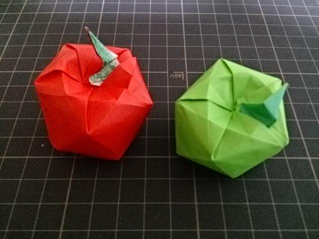 バラ 折り紙 折り紙 りんご : mainitiuniuni.blog.fc2.com