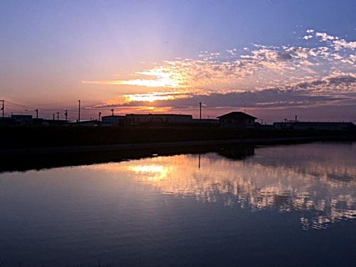 夕陽が綺麗2