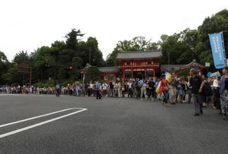 2015_08 30_京都で戦争立法反対デモ・1