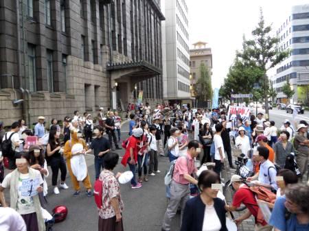 2015_08 30_京都で戦争立法反対デモ・6
