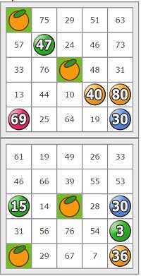 フルーツメールビンゴ0930