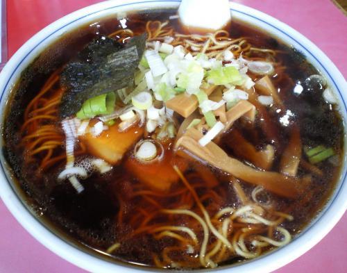 一力食堂ラーメン大盛り(27.9.18)