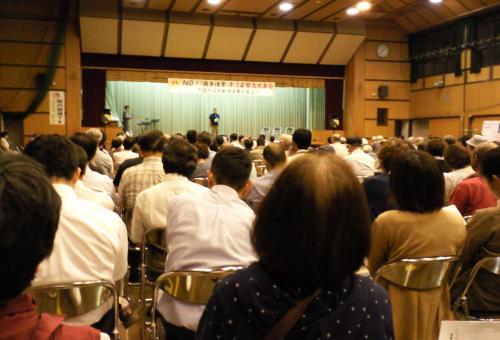 緊急集会に参加(27.9.14)