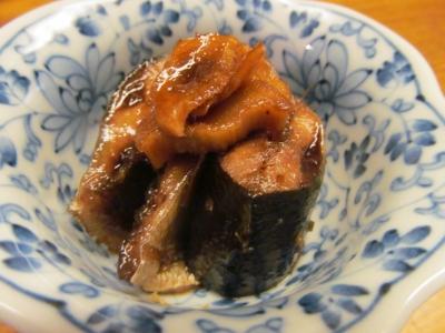 サンマの生姜煮2