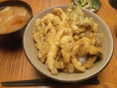 タイガー天丼セット2