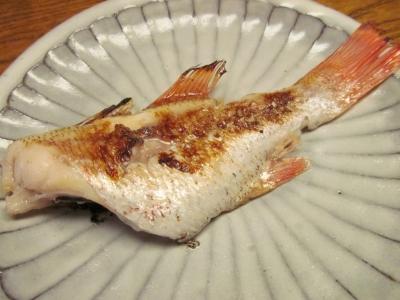 アカムツの塩麹焼き1
