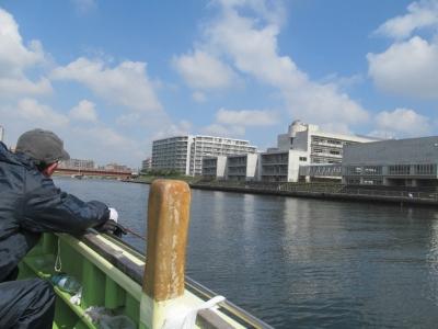 釣り場は鶴見川