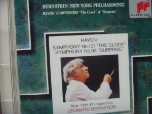 ハイドン交響曲101番、94番