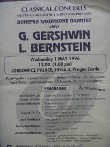 1996年プラハコンサート