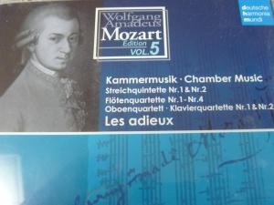 モーツァルト弦楽五重奏曲第1,2番