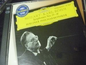 モールァルト交響曲 カール・ベーム指揮 35,36,38,39,40,41番