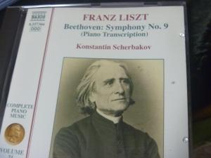 ベートーヴェンシンフォ二ー9番(リスト作)