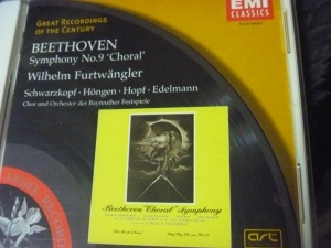 ベートーヴェンシンフォ二ー9番~フルトヴェングラー