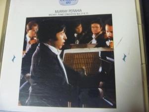 ペライア モーツァルトピアノ協奏曲第21,23番