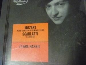 クララ・ハスキル モーツァルトピアノ協奏曲第20番