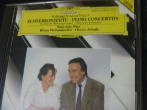 ピリス モーツァルトピアノ協奏曲第14,26番