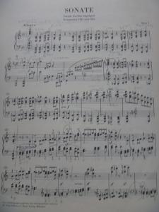 ブラームスピアノ・ソナタ1番