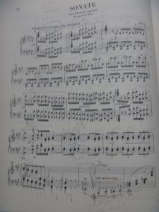 ブラームスピアノ・ソナタ2番