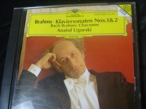 ウゴルスキー ブラームス ピアノ・ソナタ1,2番