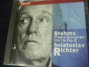 リヒテル ブラームス ピアノ・ソナタ1,2番