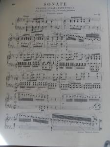 ベートーヴェン ピアノ・ソナタ 第8番 悲愴